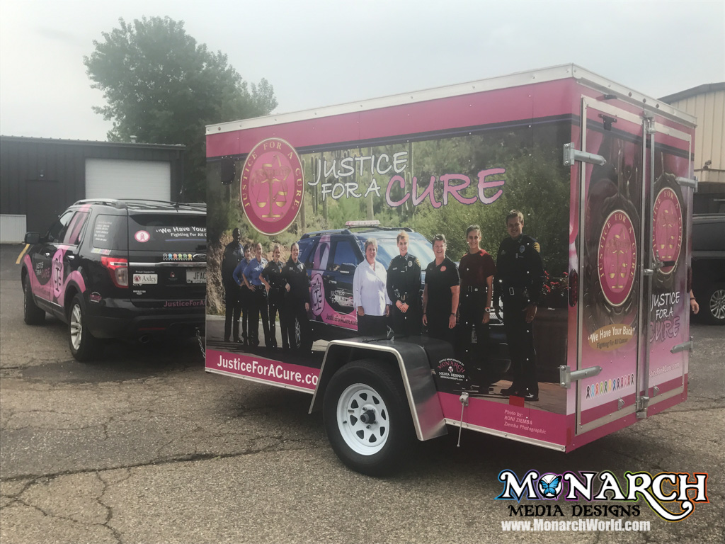 justice for a cure trailer wrap madison wi 3