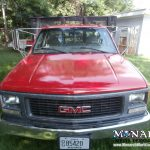 Lamark Red Truck Color Change Wrap