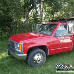 Lamark Red Truck Color Change Wrap