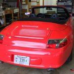 Porsche Color Change Wrap After E