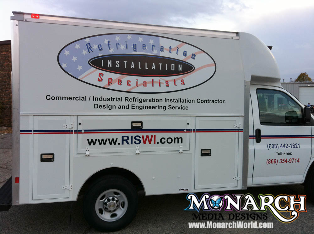 Monarch Vehicle Color Logo Graphics
