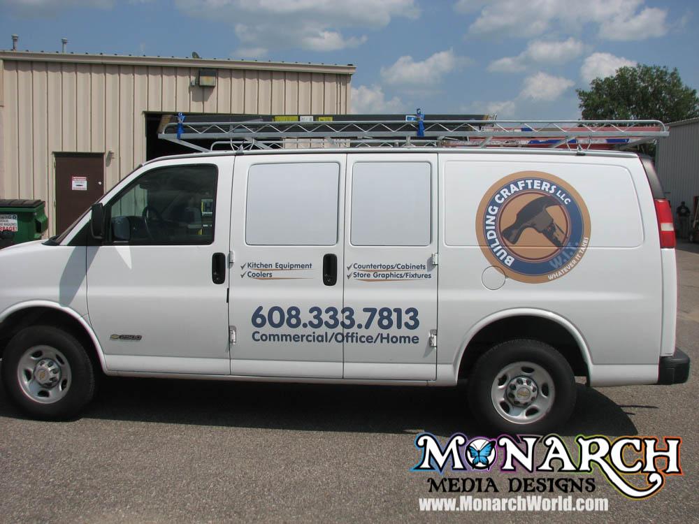 Monarch Vehicle Color Logo Graphics