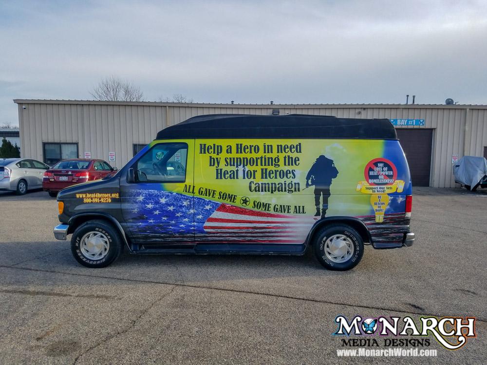 Partial Vehicle Wraps ⋆ Monarch Media Designs