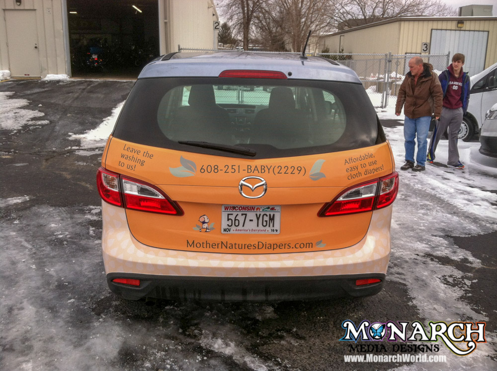 Partial Vehicle Wraps ⋆ Monarch Media Designs ⋆ Madison Wi
