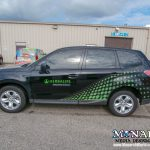 Vehicle Wrap Graphics Partial