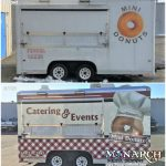 Mini Donut Trailer Wrap B A