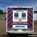 Monarch Ambulance Graphic Wrap