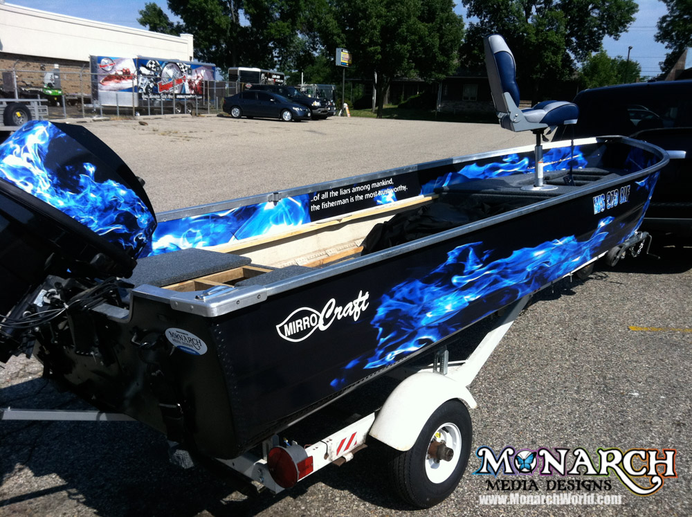 Boat Graphics And Wrap Gallery ⋆ Monarch Media Designs