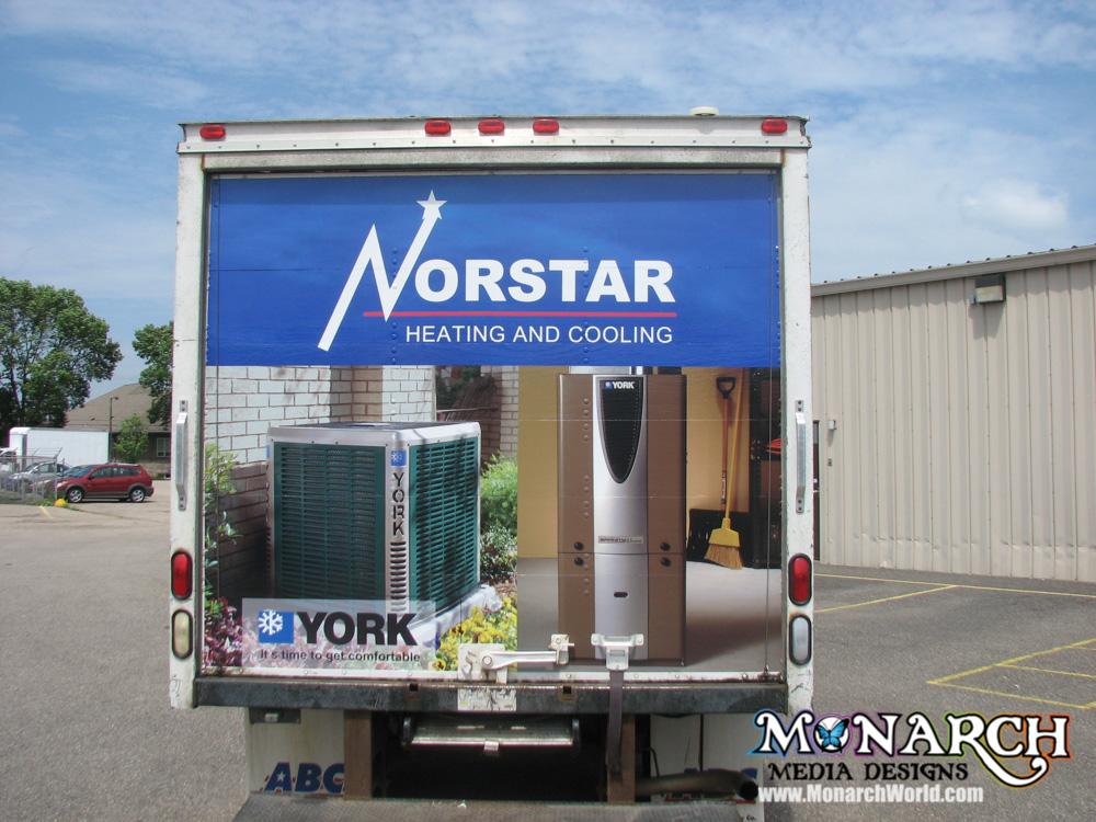 Monarch Box Truck Wrap Madison