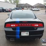 Monarch Custom Striping Vehicle