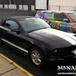 Monarch Custom Striping Vehicle