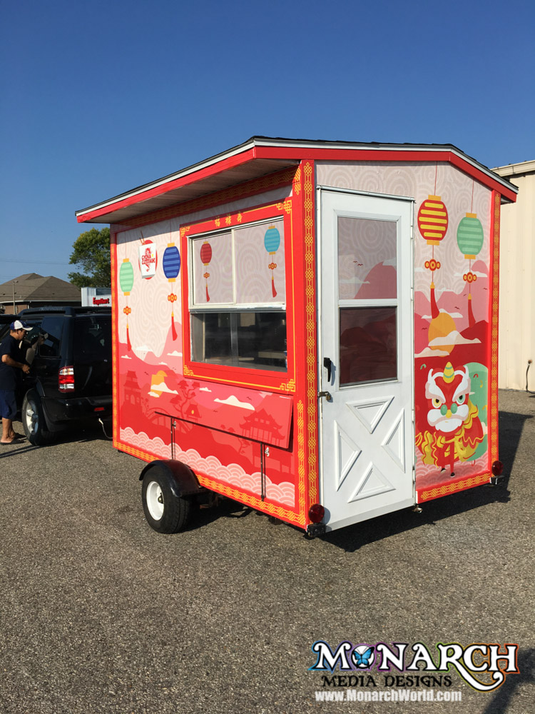 Food Cart Wraps And Graphics Monarch Media Designs