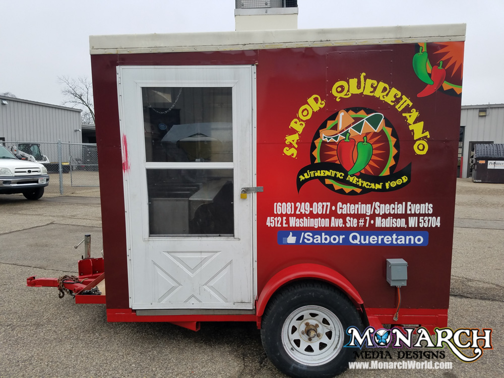Food Cart Wraps And Graphics ⋆ Monarch Media Designs