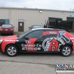 Monarch Full Car Wrap Madison