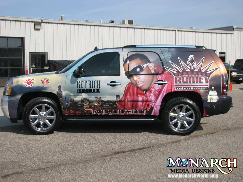 Suv And Crossover Wraps ⋆ Monarch Media Designs ⋆ Madison Wi
