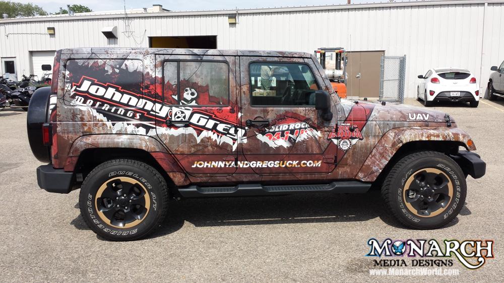 Monarch Full Truck Wrap Madison