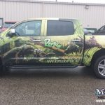 Monarch Full Truck Wrap Madison