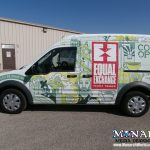 Monarch Full Van Wrap Madison