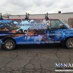Monarch Full Van Wrap Madison