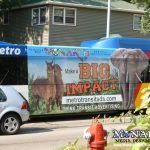 Monarch Metro Bus Transit Wrap Graphic