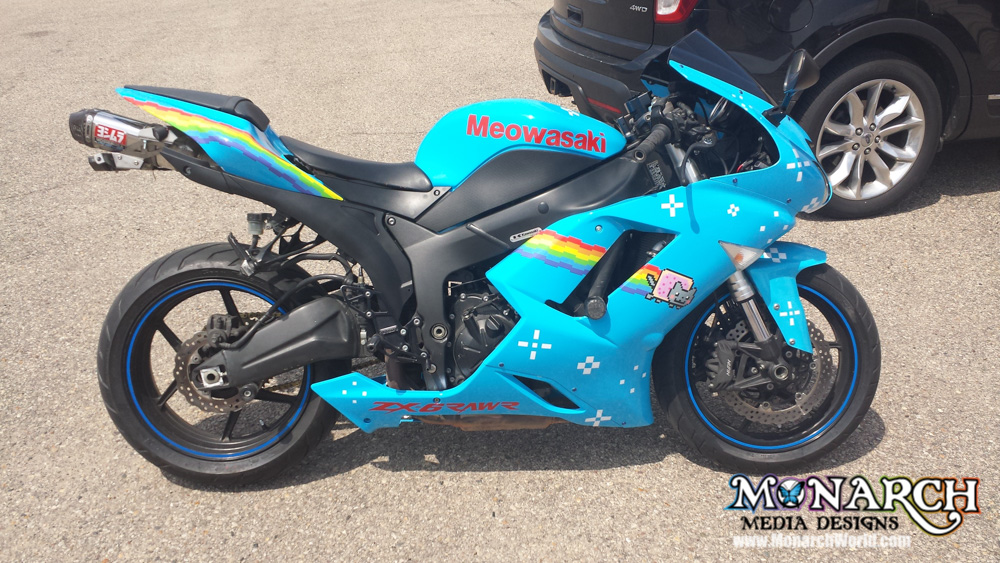 Motorcycle Wraps And Graphics ⋆ Monarch Media Designs ⋆ Madison Wi