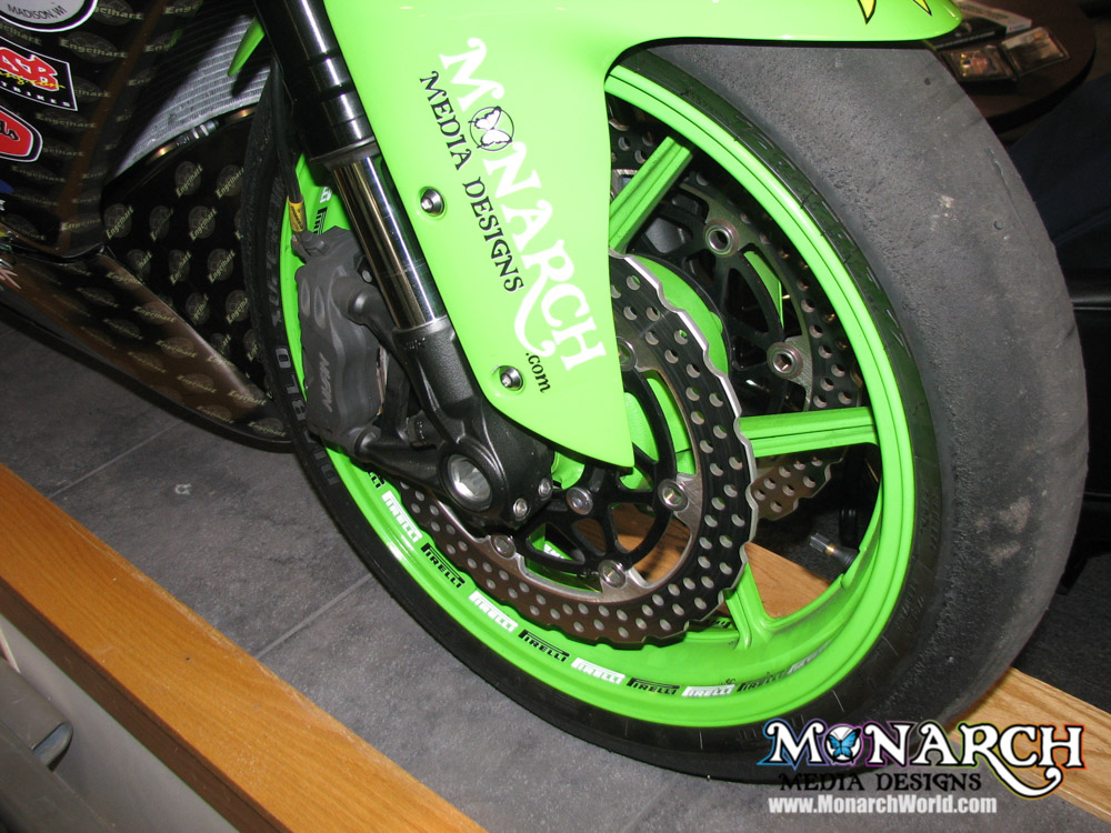 Motorcycle Wraps and Graphics ⋆ Monarch Media Designs ⋆ Madison, WI