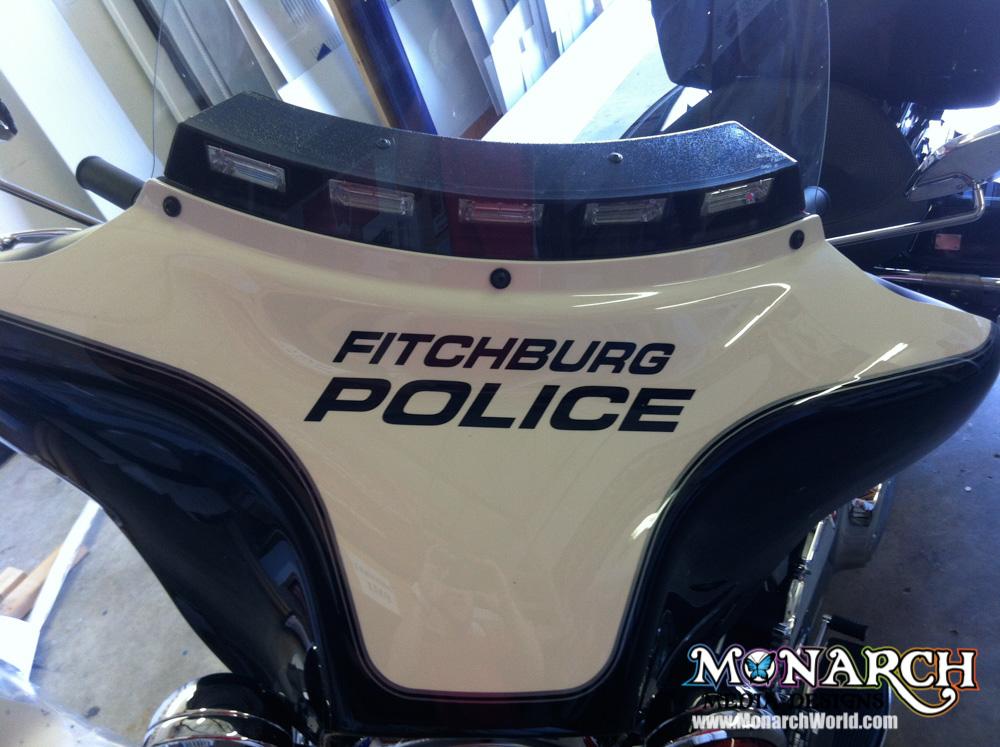 Monarch Police Fire Graphic Wrap