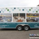 Monarch Trailer Graphic Wrap Madison
