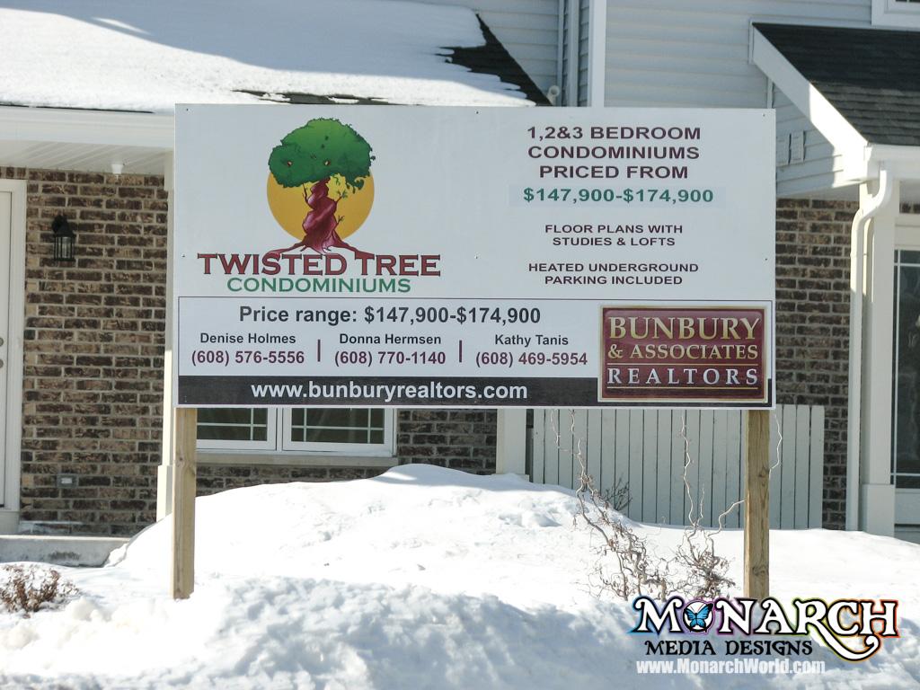Outdoor Signs ⋆ Monarch Media Designs ⋆ Madison, WI