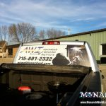 Vehicle Perforated Window Graphics