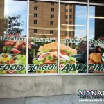 Window Graphic Mural Wrap Madison