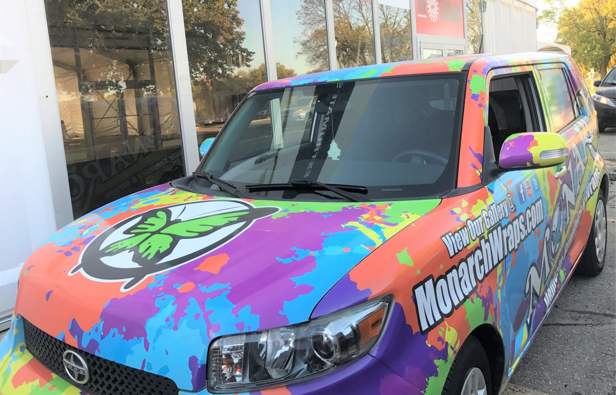 Vehicle Wrap And Vehicle Graphic Specialists ⋆ Monarch