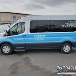 Trek Travel Fleet Van Partial Wrap