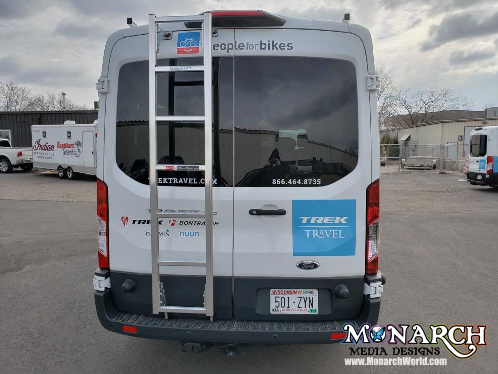 Trek Travel Fleet Van Wraps ⋆ Monarch Media Designs