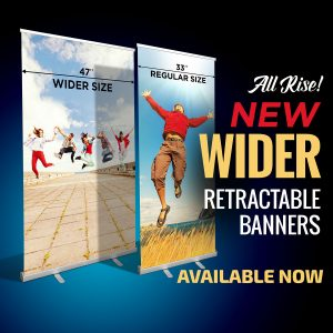 Wide Retractable Banner Stand Madison Wi