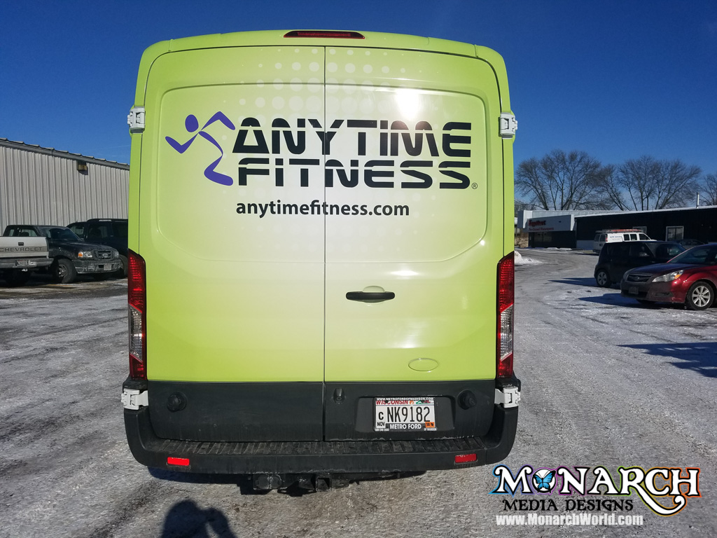 anytime fitness van wrap partial 3