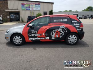 Gardner Vw Golf Partial Wrap