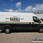 One Barrel Brewing Company Promaster Partial Vehicle Wrap