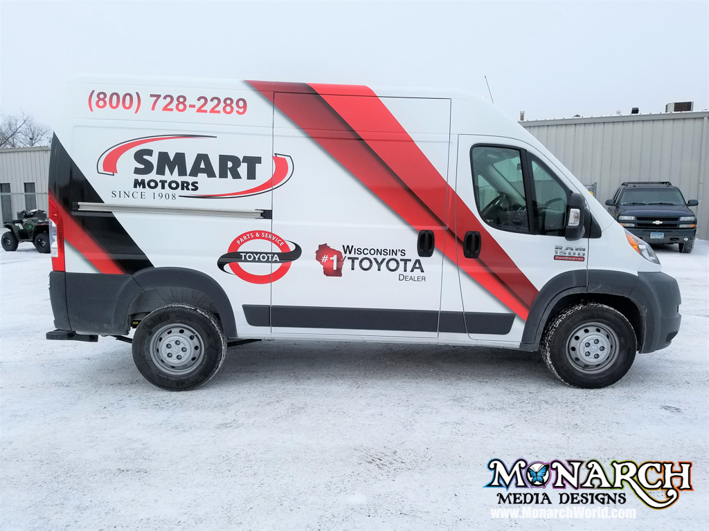 smart motors transit partial wrap 2 3