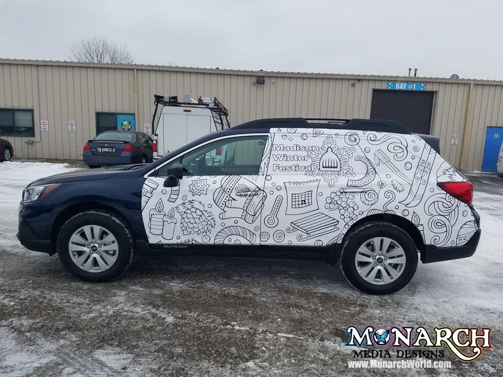 winterfest partial wrap vehicle 1