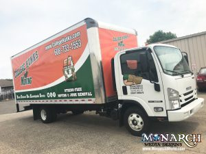 edeffdb8a5 College Hunks Box Truck Wrap Madison Highlights  Many vehicle graphic ...