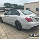 Mercedes Color Change Wrap Gloss Storm Grey