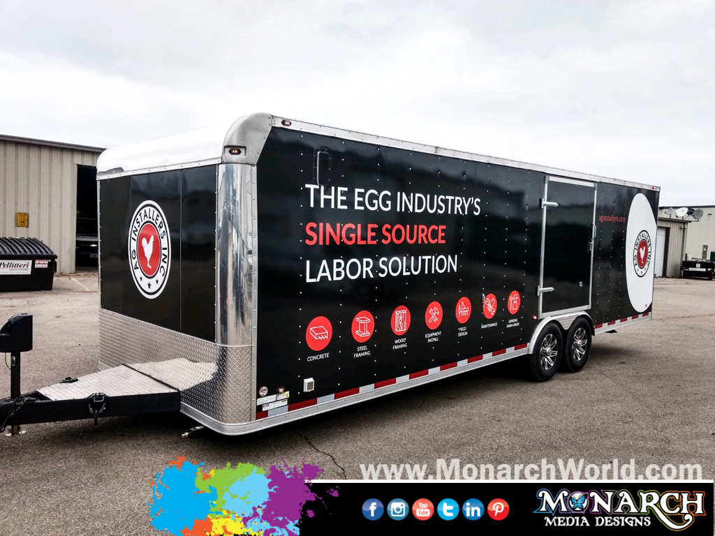 Ag Installers Trailer Full Wrap