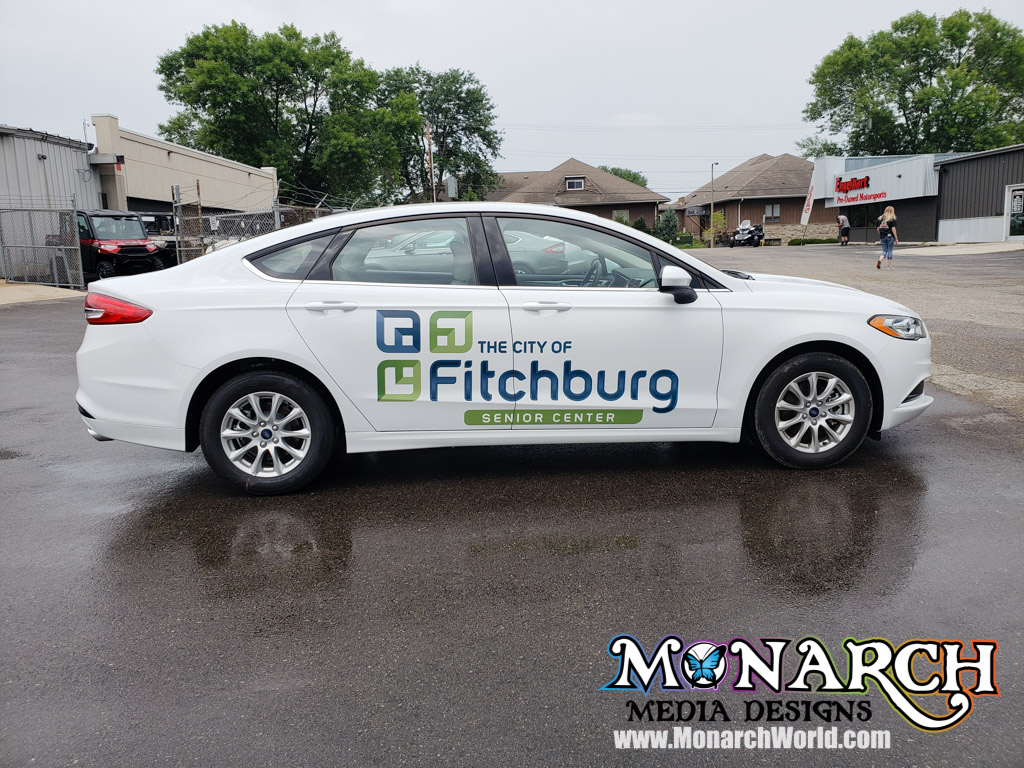 City Of Fitchburg Full Color Vinyl Graphics