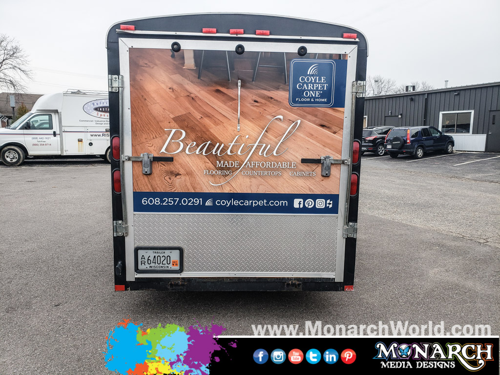 Coyle Carpet Full Trailer Wrap