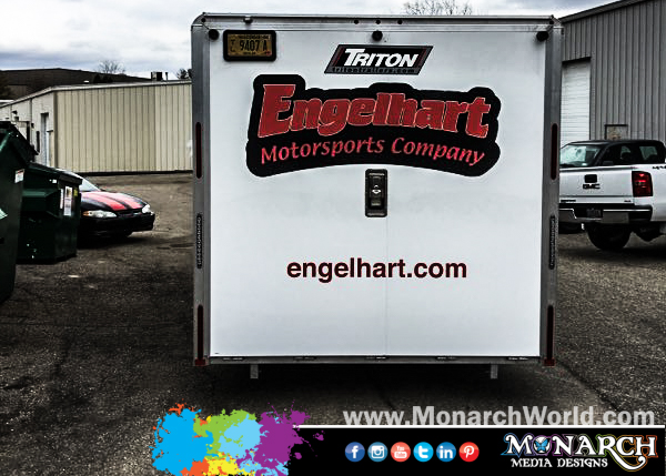 Engelhart Full Color Trailer Graphics
