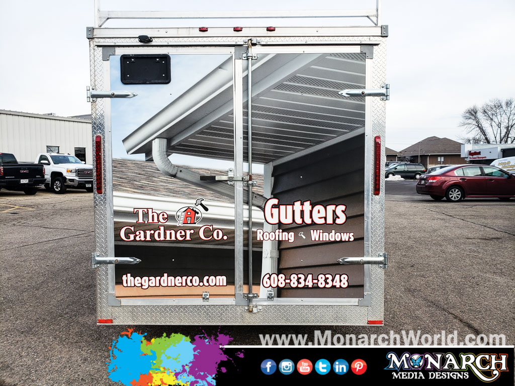 Gardner Company Trailer Wrap