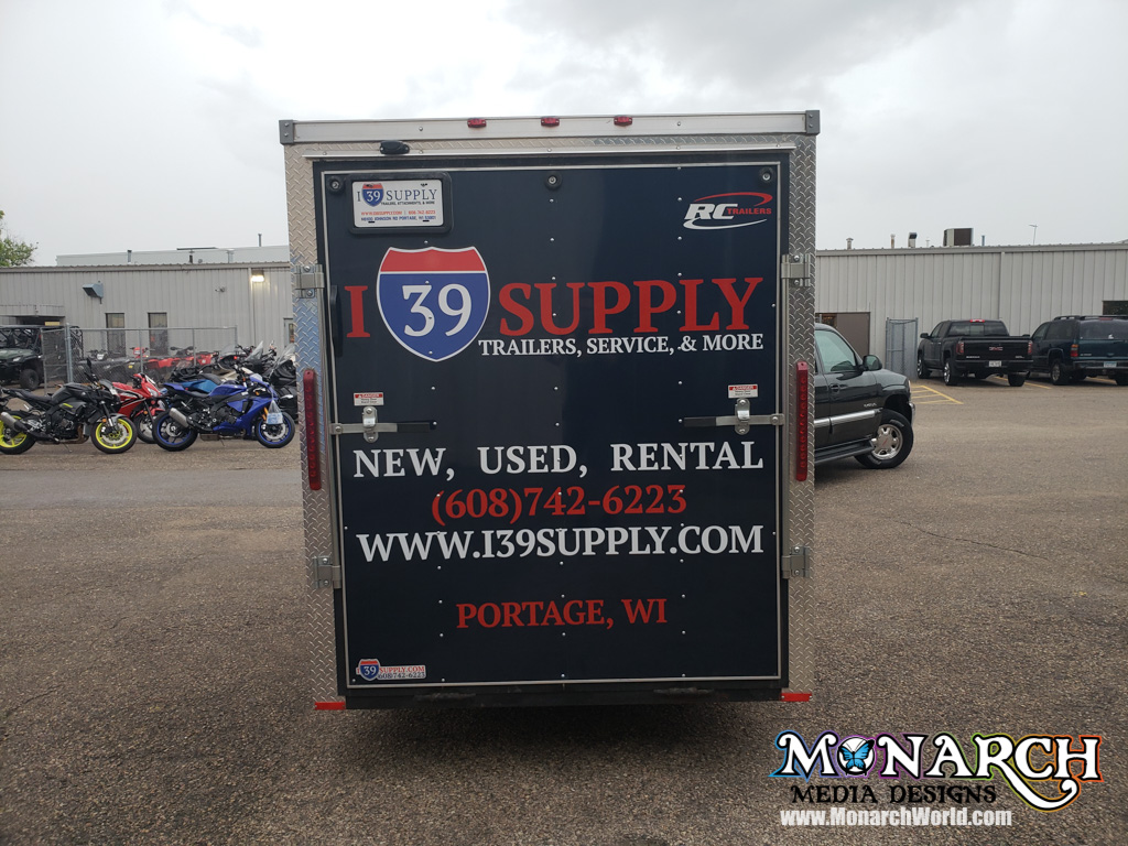 I Trailer Graphics Cut Vinyl