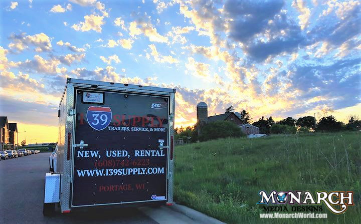 I Trailer Graphics Sunset Pic