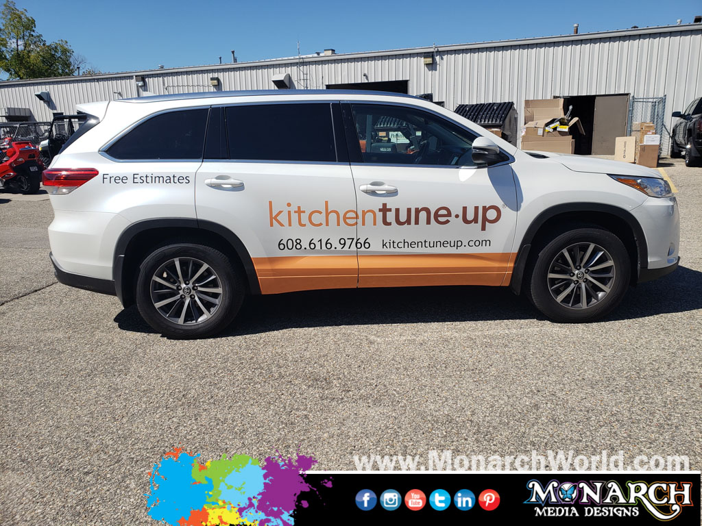 Kitchen Tune Up Suv Partial Wrap Graphics